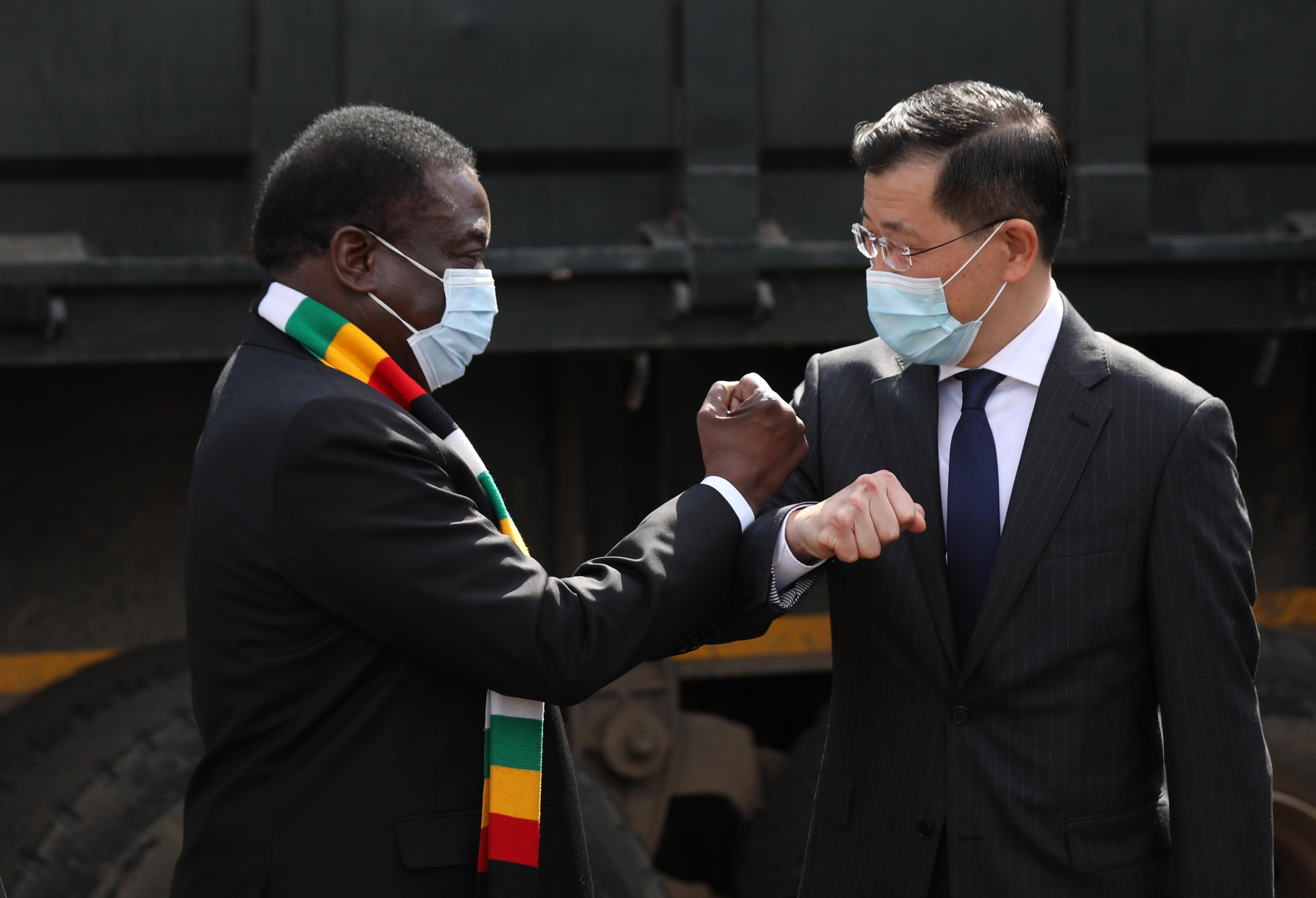津巴布韦总统感谢中国对津抗疫的支持