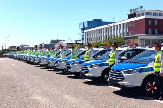出海记:181台江淮警车交付哈萨克斯坦警务系统