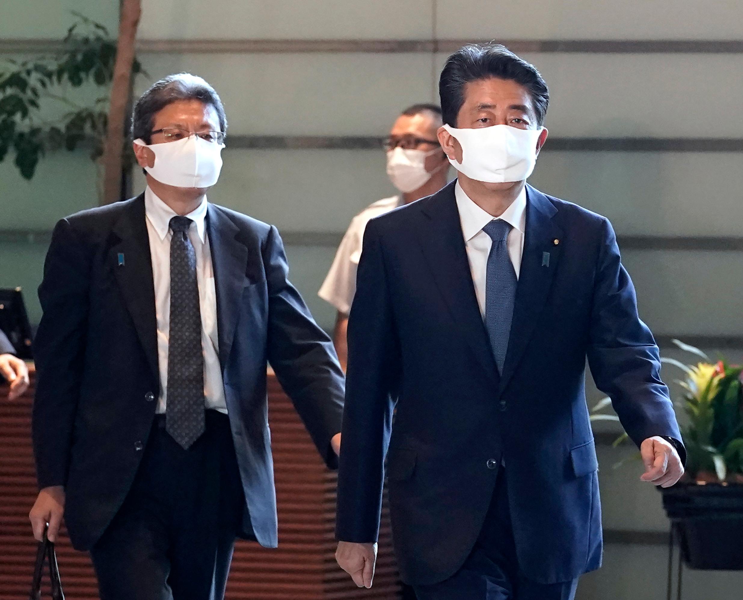 日媒报道日本首相安倍晋三基本决定辞职