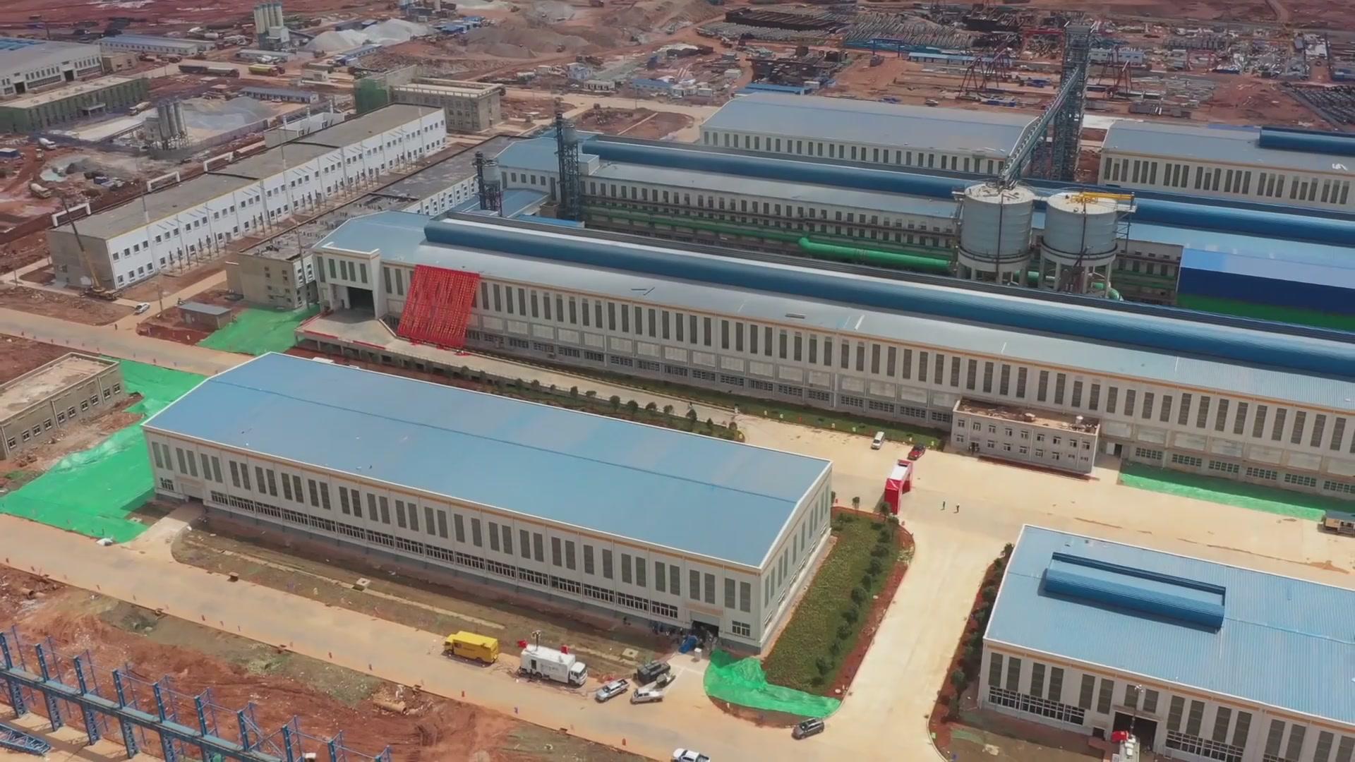 (电视通稿·国内·经济)云南年产203万吨绿色铝项目投产1.jpg