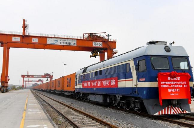 China's Zhengzhou launches freight train service to Finland.png