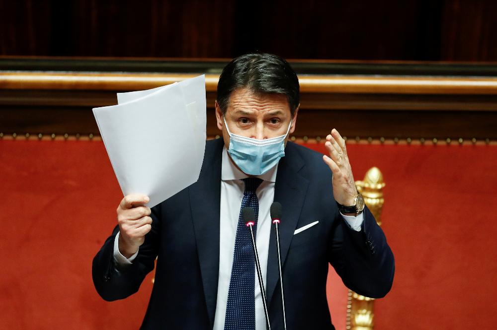 意大利总理孔特赢得参议院信任投票