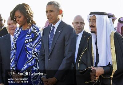 美国与沙特阿拉伯之间的关系回顾