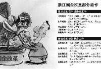 """浙江国资改革高潮迭起 """"僵尸企业""""有望瘦身健体"""