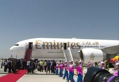 阿联酋迪拜开通直飞中国中西部航线