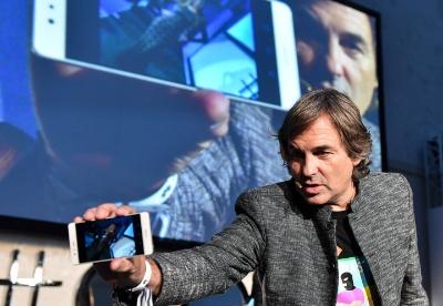 华为在奥地利举行P9手机发布会