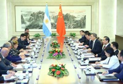 阿根廷外长:阿中将深化全面战略伙伴关系