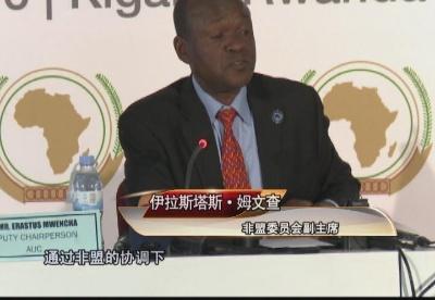 非盟委员会副主席:中国是非洲重要战略合作伙伴