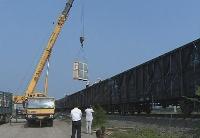 太原铁路局开行首趟国际联运货运列车