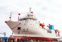"""""""张謇""""号抵达巴布亚新几内亚拉包尔港"""