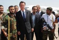 卡梅伦因军事干涉利比亚遭痛批,希拉里或受影响