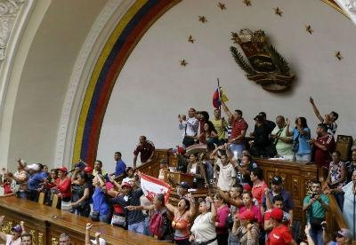 """委内瑞拉议会称政府中止公投""""破坏国家宪法"""""""