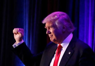 特朗普赢得美国总统选举