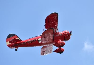 肯尼亚内罗毕上演古董飞机飞行秀