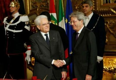 意大利过渡政府宣誓就职