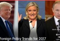 2017年十大外交政策趋势