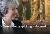 特雷莎·梅的英国脱欧选择将注定失败