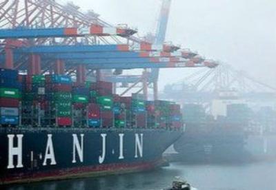 韩国最大海运企业韩进海运宣告破产