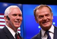 美国副总统称美将继续同欧盟发展合作与伙伴关系