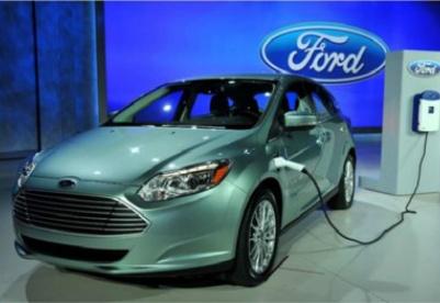 福特汽车将在中国生产电动汽车