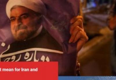 鲁哈尼连任不能快速解决伊朗面临的问题