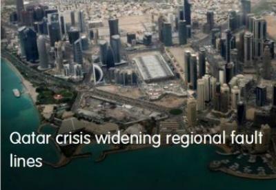 卡塔尔危机扩大区域裂隙