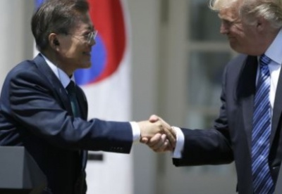 美韩关系进入特朗普-文在寅时代