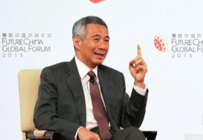 """李显龙:新加坡计划积极参与支持""""一带一路""""倡议"""