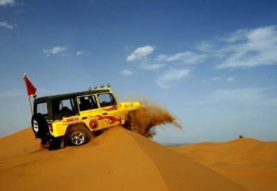 大漠黄河国际旅游节系列主题活动在腾格里•金沙海举行