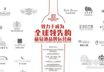 全球10大葡萄酒品牌排行榜揭晓 张裕第四