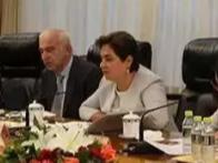 何立峰会见《联合国气候变化框架公约》秘书处执行秘书埃斯皮诺萨