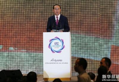 2017年亚太经合组织工商领导人峰会在越南岘港开幕