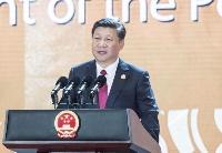 习近平主席在亚太经合组织工商领导人峰会上的主旨演讲(全文)