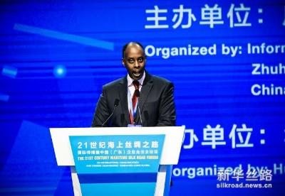 """乌干达驻穗总领事鲁提嘉:高度关注并积极响应""""一带一路""""倡议"""