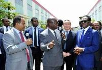 赤道几内亚总统参观埃塞东方工业园