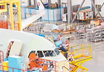 创新中国助力空客腾飞