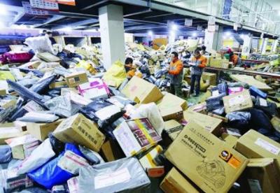 邮政局:3月快递业务量料同比增长30%