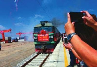 甘肃:从中亚班列开行看对外开放提速