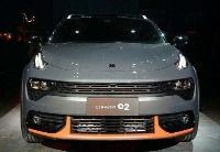 吉利旗下高端品牌新车领克02亮相荷兰