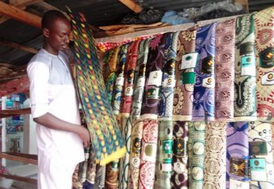 每年约有12亿美元的走私纺织品涌入尼日利亚市场