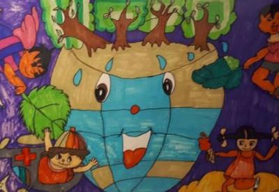 汶川地震十周年国际儿童绘画展在悉尼举行