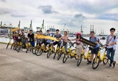 ofo小黄车在新加坡部署共享单车数量达7万辆