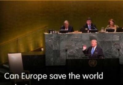 欧洲能够拯救世界秩序吗?