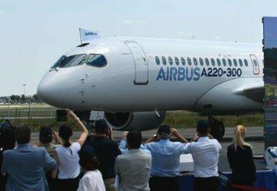 空客推出A220系列飞机