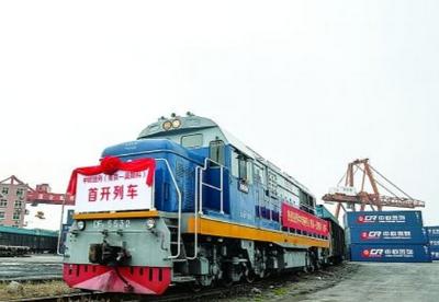 """""""宁满欧""""国际班列运行两周年,货运量逐年稳步上升"""