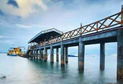 中国援建马尼拉帕西格河桥梁项目正式开工
