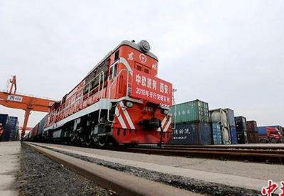 """上半年陕西""""长安号""""班列进出口货值同比增长7.7倍"""