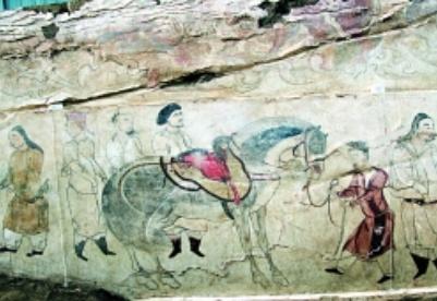 """古代山西的""""丝绸之路"""""""