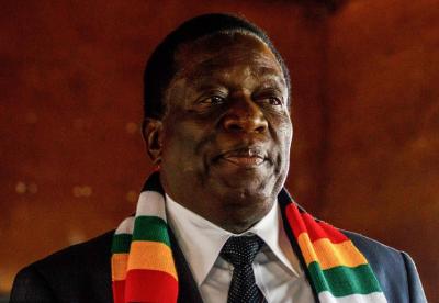 """津巴布韦总统姆南加古瓦:""""一带一路""""将全世界连接在一起"""