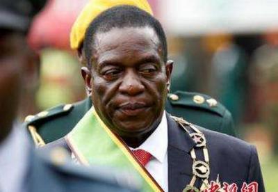 姆南加古瓦宣誓连任津巴布韦总统